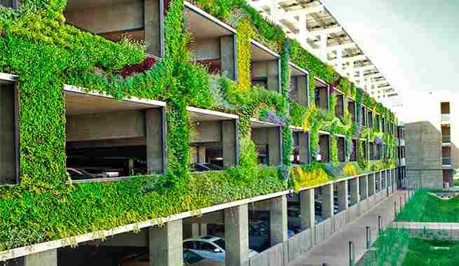 jardines verticales dise os plantas y consejos. Black Bedroom Furniture Sets. Home Design Ideas