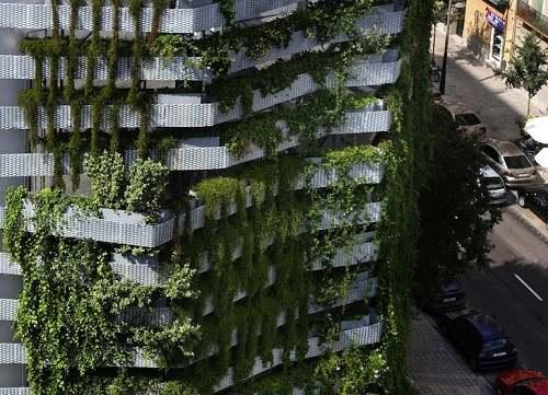 Jardines verticales el proyecto ambiental del futuro for Edificios con jardines verticales