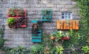 Tutorial de Como hacer los jardín vertical con palét de madera