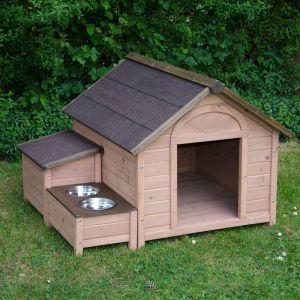 Por qu instalar una caseta de perro en el jard n - Caseta de madera para jardin ...