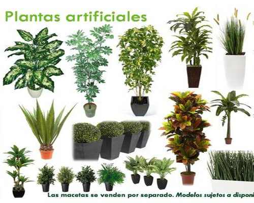 Plantas artificiales baratas para tu jard n vertical for Plantas artificiales